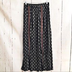 Xhilaration Maxi Skirt Tribal Print Boho Hippie